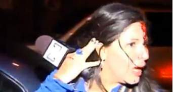 Колумбийскую журналистку избили за сюжет о Чавесе (Видео)