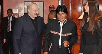 Товаришуватимемо, як із Венесуелою, – Лукашенко Президентові Болівії