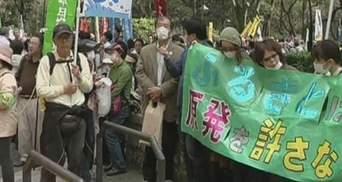 Японцы отмечают вторую годовщину аварии на Фукусиме