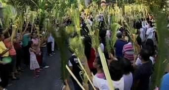 Католики у цілому світі святкують Вербну неділю