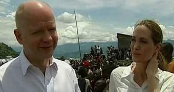 Анджеліна Джолі відвідала жіночий табір у Конго