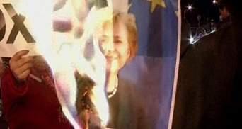 Киприоты протестуют против кредита от ЕС и МВФ