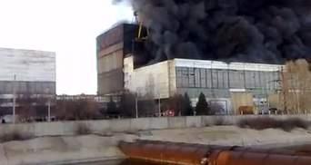 Міністр: Встановлено основні причини пожежі на Вуглегірській ТЕС