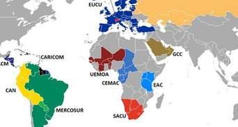 Кто, с кем, против кого: таможенные союзы мира