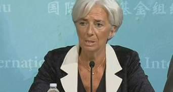 Країни Єврозони повинні навести лад у фінсекторі, - Лагард