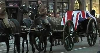У Лондоні відбулася генеральна репетиція похорону Тетчер (Відео)