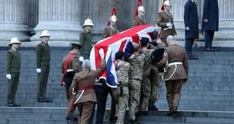 У Лондоні відбулась репетиція похорону Тетчер з пустою труною (Фото)