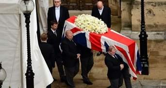 Похорон на 10 мільйонів: У Лондоні попрощались з Маргарет Тетчер. Live (Фото)
