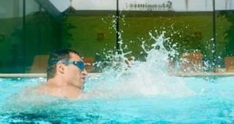 Володимир Кличко тренується під водою (Відео)