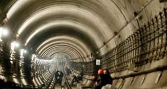 Столичные власти планируют начать строительство метро на Троещину через месяц