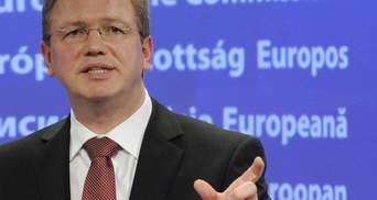 Фюле дав Україні 3 місяці на реакцію щодо Тимошенко