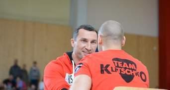 Кличко і П'янета влаштували відкрите тренування (Фото)