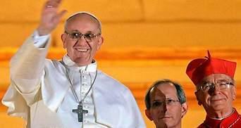 Папа Римский Франциск благословил Пьянету на бой с Кличко