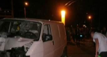 В аварії за участю інспектора ДАІ загинув чоловік (Відео)