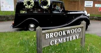 На кладбище Бруквуд похоронили Березовского (Видео)
