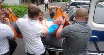 Розинська каже, що у Мельниченка інсульт, адвокат – зламана рука (Фото)