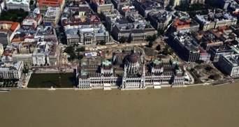 У Будапешті Дунай піднявся до рекордного рівня
