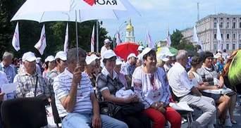 """""""Батькивщина"""" провела свой торжественный объединительный съезд (Видео)"""