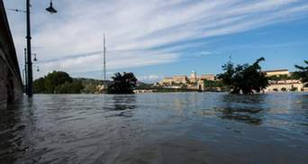 У Хорватії рівень води в Дунаї перетнув рекордну позначку