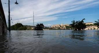 В Хорватии уровень воды в Дунае перешагнул рекордную отметку