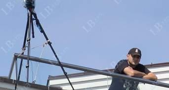 За съездом оппозиции неизвестные наблюдали с крыши, - LB (Фото)