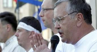 Гриценко готовий скласти мандат, якщо це ж зробить Яценюк