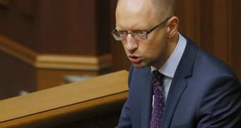 Яценюк: Таке враження, що пропозиції мені скласти мандат пишуться на Банковій