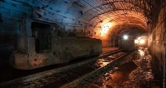 На макеевской шахте произошел обвал породы