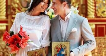 Коновалюк обвенчался со своей молодой женой (Фото)