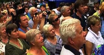 """Месяц после """"Врадиевки"""": Протесты, которые потрясли всю страну и чистка в милиции"""