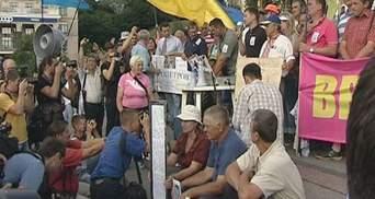 Врадиевцы не разойдутся, пока Захарченко не уйдет в отставку, - организаторы митинга