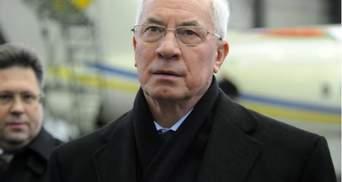 """Азаров поручил оказать помощь семьям погибших и пострадавших в аварии на """"Стирол"""""""