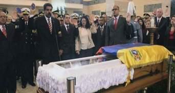 Президент Венесуэлы заявил, что ночует у саркофага Уго Чавеса