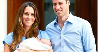 Кейт Міддлтон ростить сина без няні