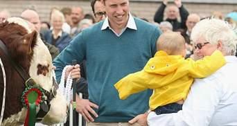 Принц Вільям розповів, як няньчився зі своїм сином