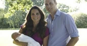 Новонароджений принц Джордж знявся у першій фотосесії (Фото)