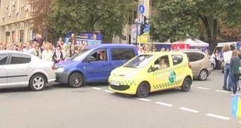 У Києві презентували саморобні і серійні електромобілі