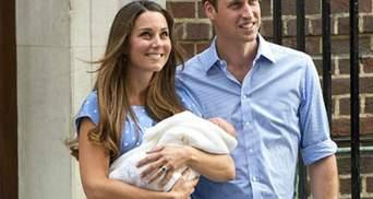 Кейт Міддлтон та принц Вільям обрали хрещених для свого сина