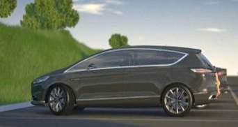 Минивэн Ford S-Max и новая стилистика Volvo