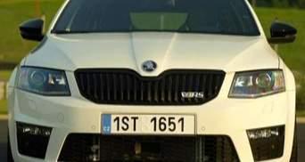 Skoda представила самую быструю модель марки - Octavia vRS