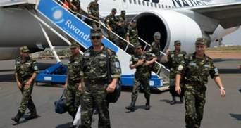 Янукович відправив миротворців у Конго