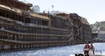 В море нашли останки жертв катастрофы Costa Concordia