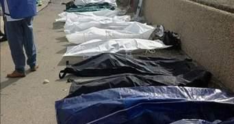 Біля берегів Італії затонуло судно з біженцями із Сомалі