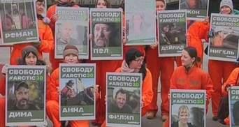 Мир протестует против задержания активистов Greenpeace