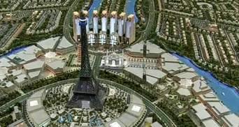 В Дубаї хочуть збудувати копію Тадж-Махалу та Ейфелевої вежі