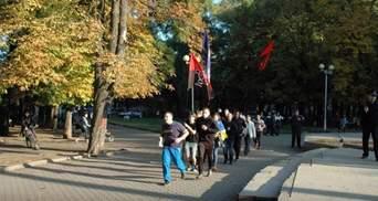 В Одессе пробег в честь УПА прошел под протесты антифашистов