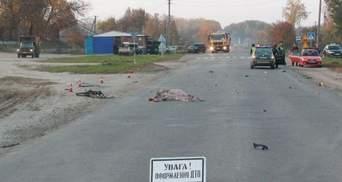 Під Сумами мотоцикліст на шаленій швидкості збив пенсіонерку: ніхто не вижив