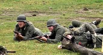 Во Львове воссоздали исторический бой УПА и Вермахта