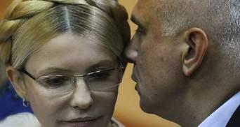 Юля пішла на компроміс заради перспектив України, – Олександр Тимошенко