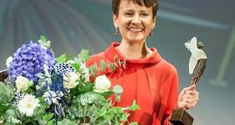 Забужко отримала відому літературну премію Angelus (Фото)